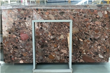 Luxury Polished Colorful Red Granite Slabs Price