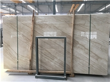 Polished Turkey Daino Beige Marble Slabs Price