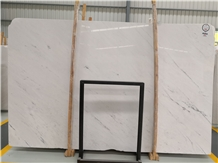Whosale Macedonia Sivec White Marble Slabs Price