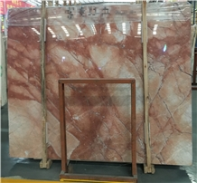 Whosale Polished Fortune Red Marble Slabs Price