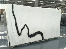 Whosale White Marble with Black Veins Slabs Price