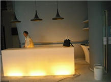 Led Lighting Bar Counter Top Faux Stone Sheet