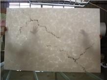Polished Artificial Alabaster Slab Translucent