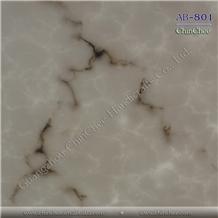 Polished White Grey Alabaster Sheets