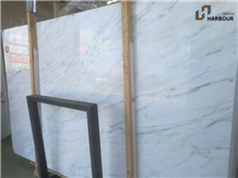 Ivory Jade Marble Slab, China White Marble Slab