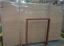 New Wooden Travertine, Beige Travertine Slabs