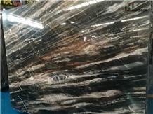 Phantom Black Marble Slabs