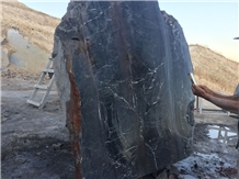 Cadirkaya Black Spider Marble Blocks