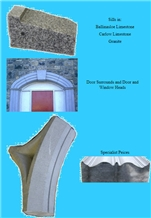 Ballinasloe Limestone Building Ornaments