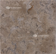 Blue Valverde Ae-P Polished Limestone Tiles, Slabs