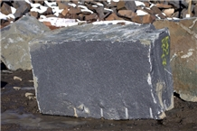 Gabbro Stone Blocks, Karelia Black Granite Block