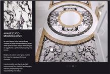 Arabescato Meraviglioso Marble Tiles & Slabs
