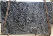 Forest Black Granite Slabs
