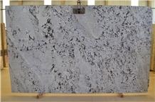 Splendor White Granite Slabs, Brazil White Granite