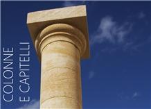 Pietra Carparo Column and Capital