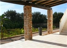 Pietra Leccese Calcare Terrace Paving