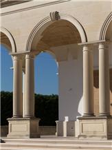 Pietra Leccese Calcare Columns, Arches