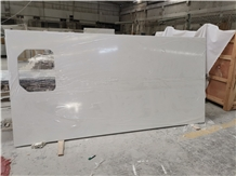 Pure White Quartz Countertop Island Tops