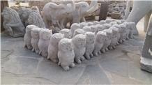 Animal Sculpture in Granite