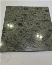 Chinese Gem Green Granite for Floor Covering