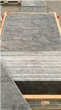 Grey Sahara B Marble Tiles, Morocco Grey Marble