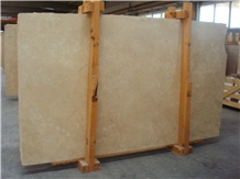 Ivory Travertine Filled Honed 3cm Slabs