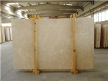 White Travertine Slab Filled and Honed 2cm