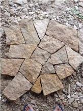 G682 Yellow Granite Wall Cladding Natural Split