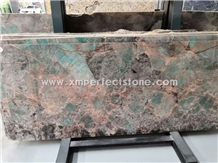 Green Amazonite Slab from China