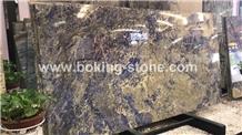Brazil Sodalite Blue Namibia Granite Slabs