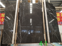 Cafe Marquina Pietra Brown Marble Slab