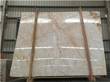 Golden Spider Beige Marble Slabs