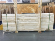 Vanila White Onyx Slabs Turkey Onyx