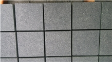 Black Granite Cube Stone Paver for Drive Way Paver