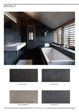 Develi Basalt Tiles, Turkey Black Basalt