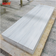 12mm Thick Marble Texture Solid Surface Sheets