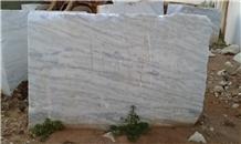 White Marble Rajado Blocks, Brazil White Marble