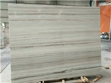 China Crystal Blue Wooden Vein Marble