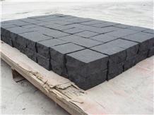 Zhangpu Black Granite Cube Stone & Pavers
