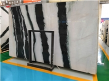 China Panda White Marble for Wall and Floor