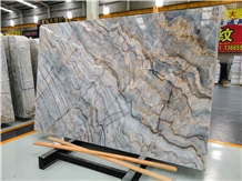 Roma Impression Blue Marble for Wall and Floor