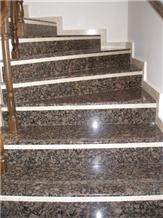 Baltic Brown Granite Step for Interior