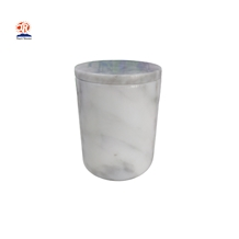 Carrara White Marble Candle Holders with Lid Price