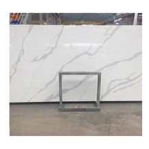 White Artificial Quartz Slabs for Countertop