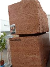Rosso Asiago Marble Blocks