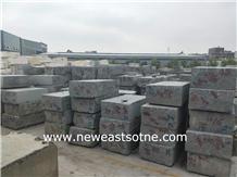 New G654 Padang Dark Sesame Black Granite Blocks