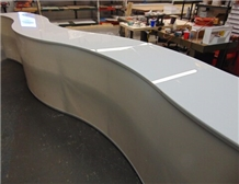 Corian Solid Surface Acrylic Slab Bending Table