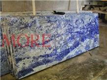 Expensive Sodalite Blue Jasper Slab Size Granite