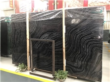 Tree Black Sea Save Marble for Tiles and Slabs