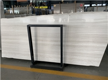 White Wood Marble Slabs & Tiles Price Factory